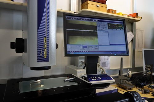 Optical measuring system - Precision metal turnery